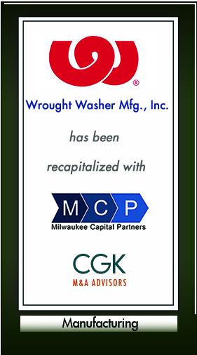 Wrought Washer Mfg., Inc.